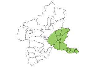 前橋市 主要エリアマップ